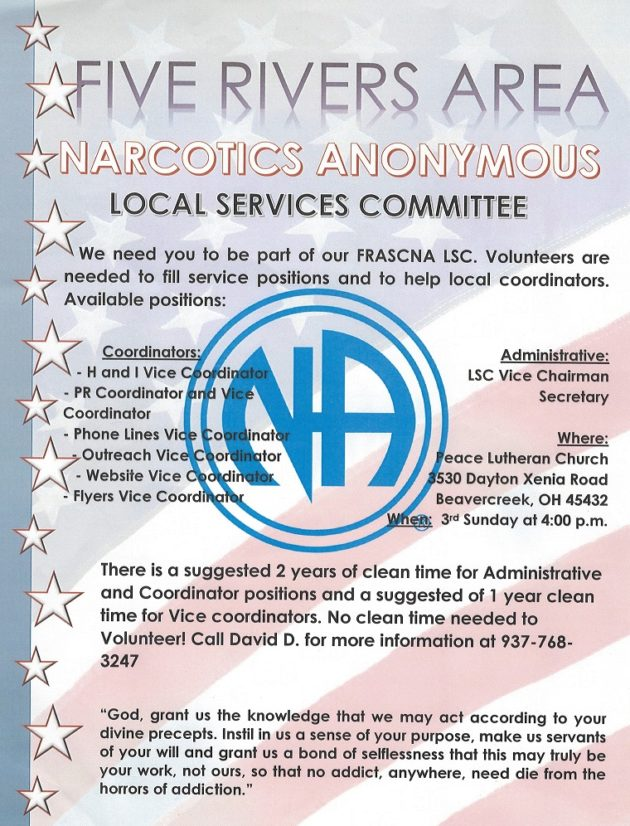 Local Services Flyer